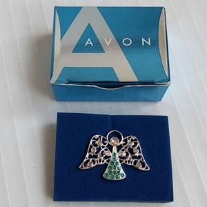 Heavenly Angel December Birthstone Tac Pin Avon
